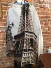 Summer Eiffel Tower Square Scarves & Wraps for Women