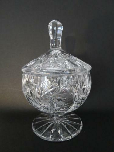 Crystal Covered Candy Dish Ebay