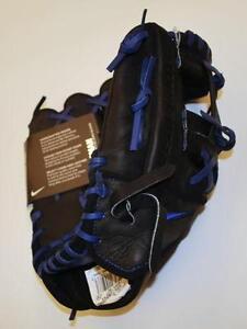 Nike Men's Diamond Elite Pro II Batting Glove - Black/Volt