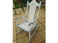 Traditional wooden rocking chair wanted
