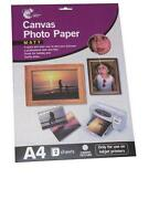 A4 Canvas Paper