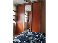 3 doors sliding door wardrobe VERY Good quality and condition 280 x 230 x 60cm