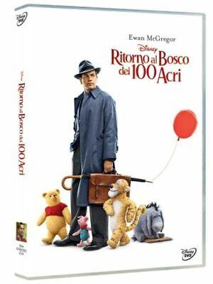 RITORNO AL BOSCO DEI 100 ACRI DISNEY DVD FILM NUOVO