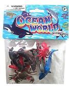 Plastic Sea Animals