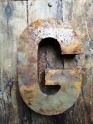 Vintage Metal Letters