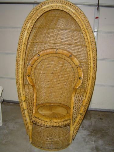 Wicker Fan Chair Ebay