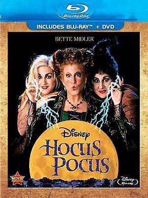 Disney Bette Midler Music Classic Halloween Movie Hocus Pocus on Blu-ray & DVD