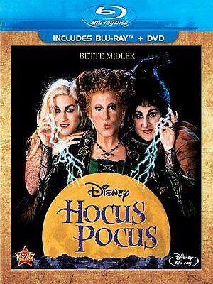 Disney Bette Midler Music Classic Halloween Movie Hocus Pocus on Blu-ray & DVD ()