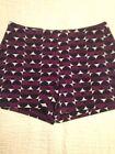 Purple Women's Dress Shorts