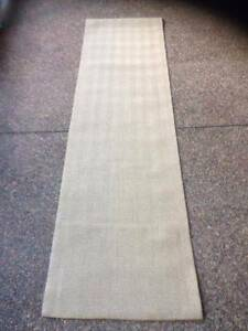 ECO RUG/ CARPET 300 X80CM -HERRINGBONE-SAND Minchinbury Blacktown Area Preview