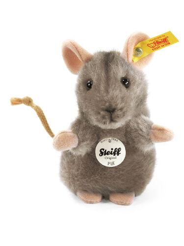 STEIFF Piff Mouse EAN 056222 10cm Grey Plush soft toy teddy child gift New