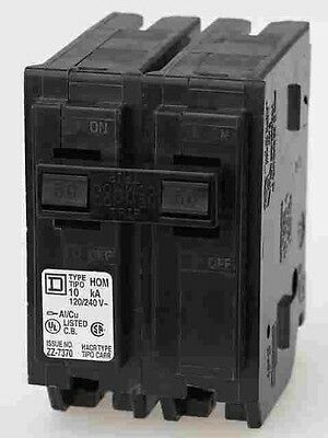 SQUARE D 30 AMP DOUBLE POLE BREAKER BRAND NEW (Square D 30 Amp Double Pole Breaker)