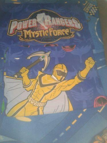 Power Rangers Bedroom: Power Rangers Bedding