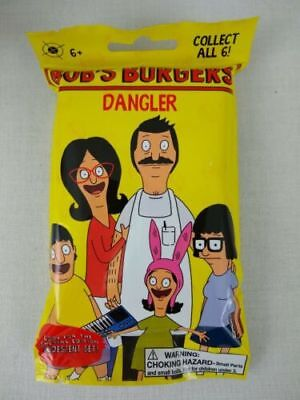 Bob's Burgers Danglers 6 Blind Unopened Bags Belcher Costume Characters Keychain](Tv Show Characters Costumes)
