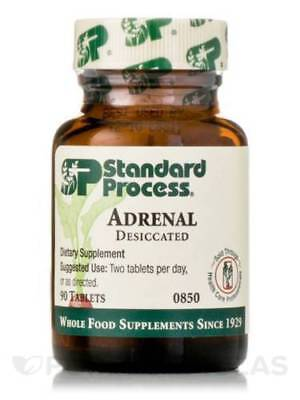 Standard Process ADRENAL DESICCATED *EXP 12/20 *SHIPS OUT LESS THAN 24 HRS FREE!