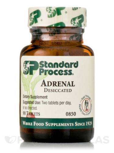 Standard Process ADRENAL DESICCATED * Exp 11/2022  * SHIPS FREE WITHIN 24 HOURS!