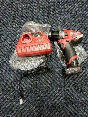 New Milwaukee 2504-20 M12 Fuel 12 Brushless Hammer Drill 4.0 Battery Charger