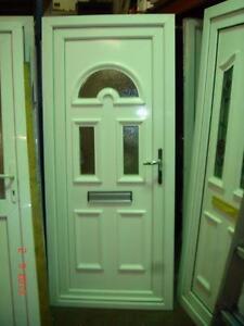 Arched door ebay for Reclaimed upvc doors