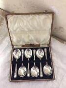 Silver Dessert Spoons