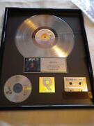 Platinum Record Award