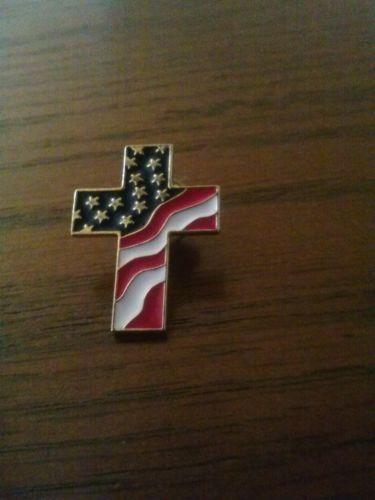 Flag Cross Lapel Pins Ebay