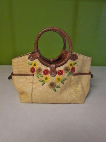 Used Michael Kors Handbags >> Womens Straw Handbags | eBay