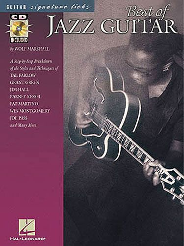 Guitar Signature Licks Best Of Jazz Guitar Learn to Play TAB Music Book & CD