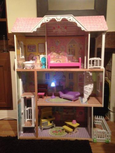 Wooden Barbie House Ebay