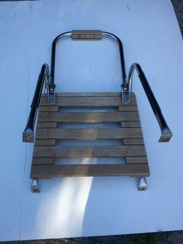 Teak Ladder Boat Parts Ebay