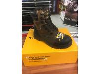 Safety Boots Buckler Buckshot BSH008WPNM SIZE 10 BRAND NEW