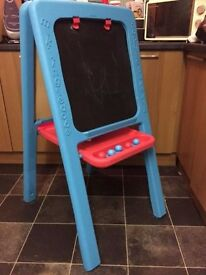 Double sided easel from elc