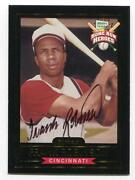 Frank Robinson Signed Card