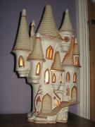 Studio Pottery Lamp