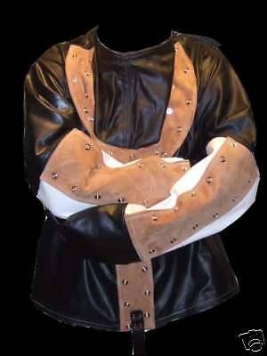 Houdini style Straight Jacket all leather large - Houdini Kostüm
