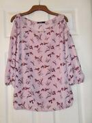 Ladies Blouse Top Size 12
