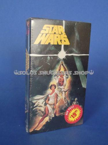 Sell Vhs Tapes >> Star Wars A New Hope VHS | eBay