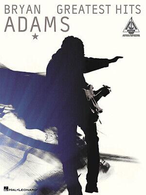 BRYAN ADAMS GUITAR TAB / TABLATURE  / ***BRAND NEW*** / GREATEST HITS / SONGBOOK