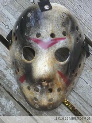 CUSTOM MADE Jason Voorhees FRIDAY THE 13th hockey mask Halloween mask Freddy - Custom Made Halloween Masks