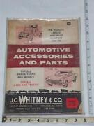 JC Whitney Catalog