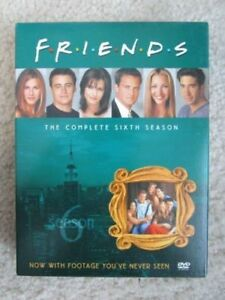 Friends TV Series DVDs Friends Season 6 Complete Sixth Season