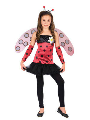 Lovely Lady Bug Kostüme (Lovely Lady Bug Ballerina Girl Kids Costume size Large)