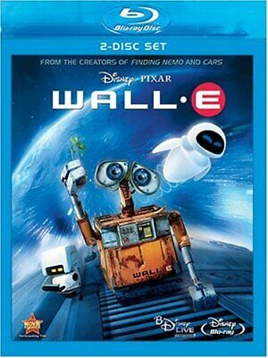 Wall-E Two-Disc Edition BD Live Blu-ray Blu-ray  - $6.50