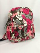 Vera Bradley Mocha Rouge Backpack