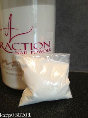 NSI Attraction Acrylic powder Crystal Clear 40g Refill New