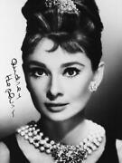 Audrey Hepburn Signed