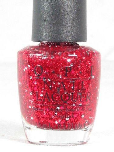 Red Glitter Nail Polish Ebay
