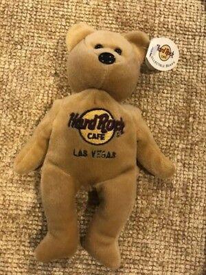 Hard Rock Cafe Las Vegas Collectible Teddy Bears Isaac Beara 1 of 5 New with tag