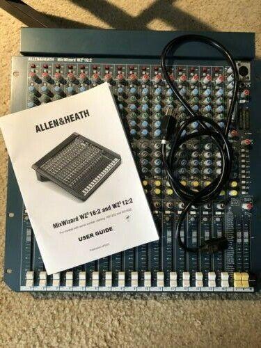 Allen Heath Mix Wizard WZ3 16:2 Mixing Board
