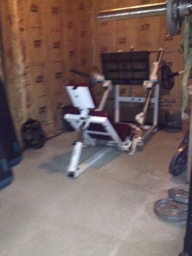 Used Squat Rack >> Used Leg Press: Gym, Workout & Yoga | eBay