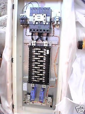 NIB Erico Breaker panel w/ generator transfer switch